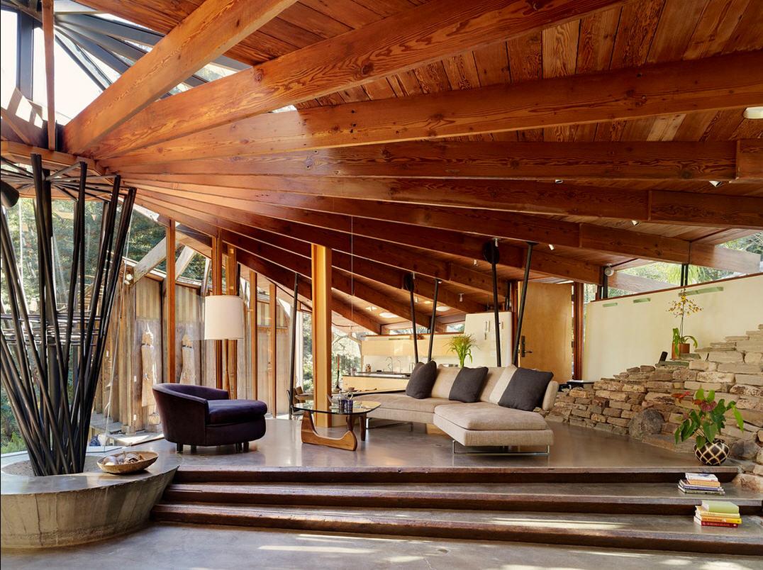 Современный деревянный дизайн домов